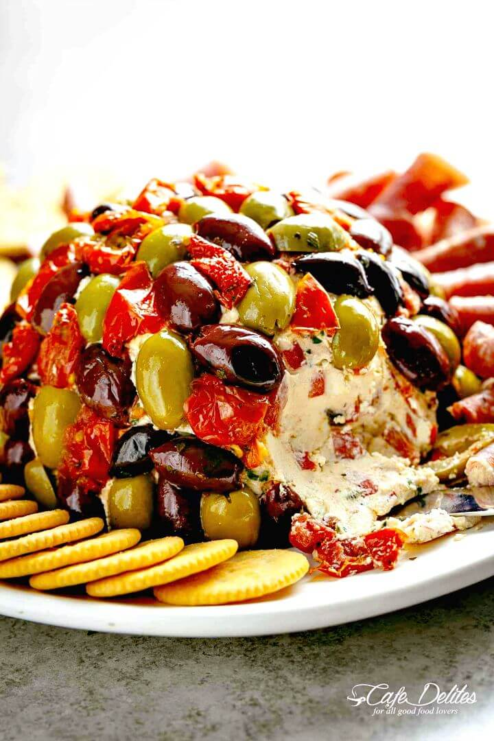 Best Cheese Ball Antipasto Recipe