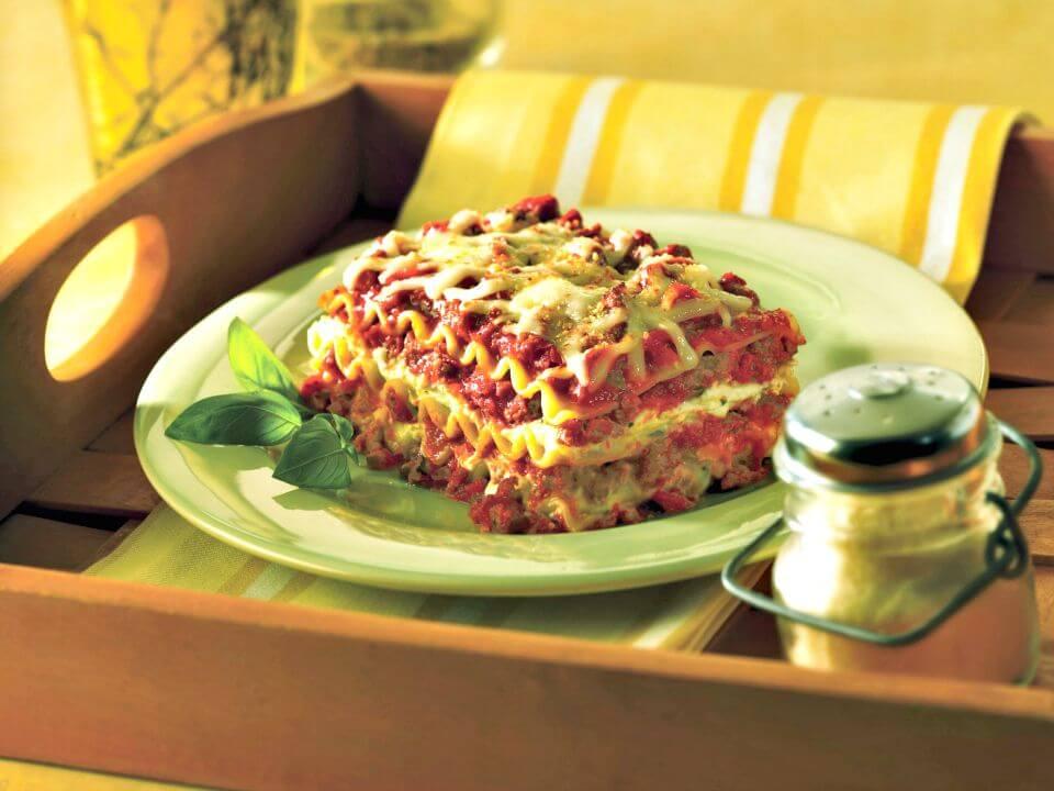 Healthy No-boil Classic Lasagna
