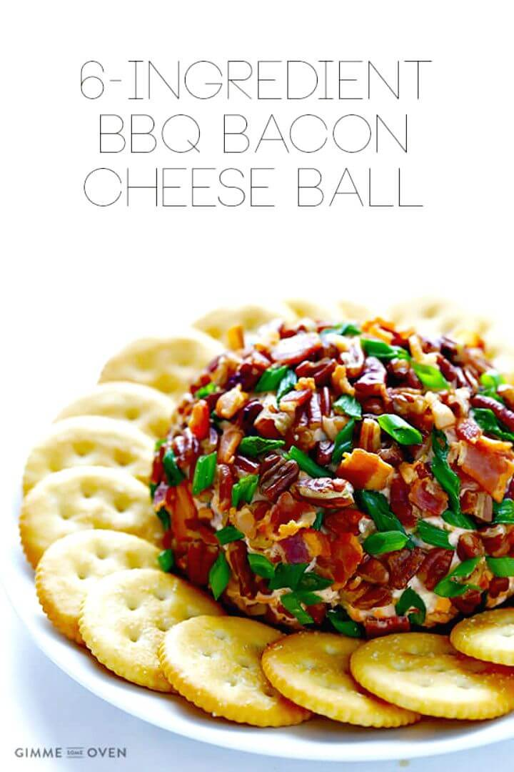 BBQ Bacon Cheese Ball Recipe