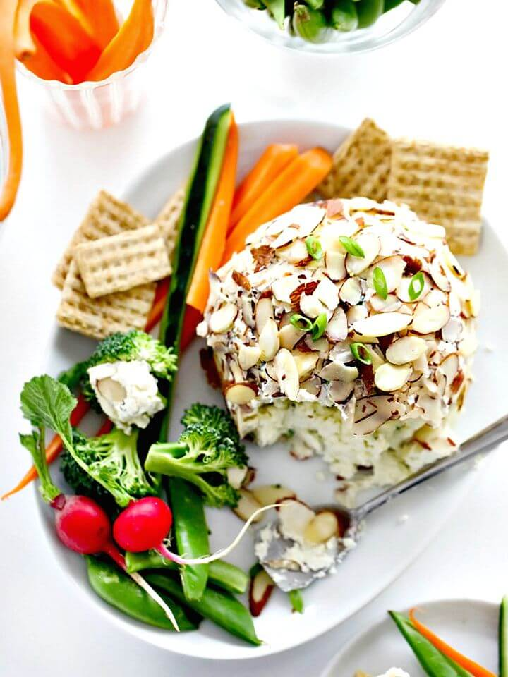 Light and Tasty Cheese Ball Recipe