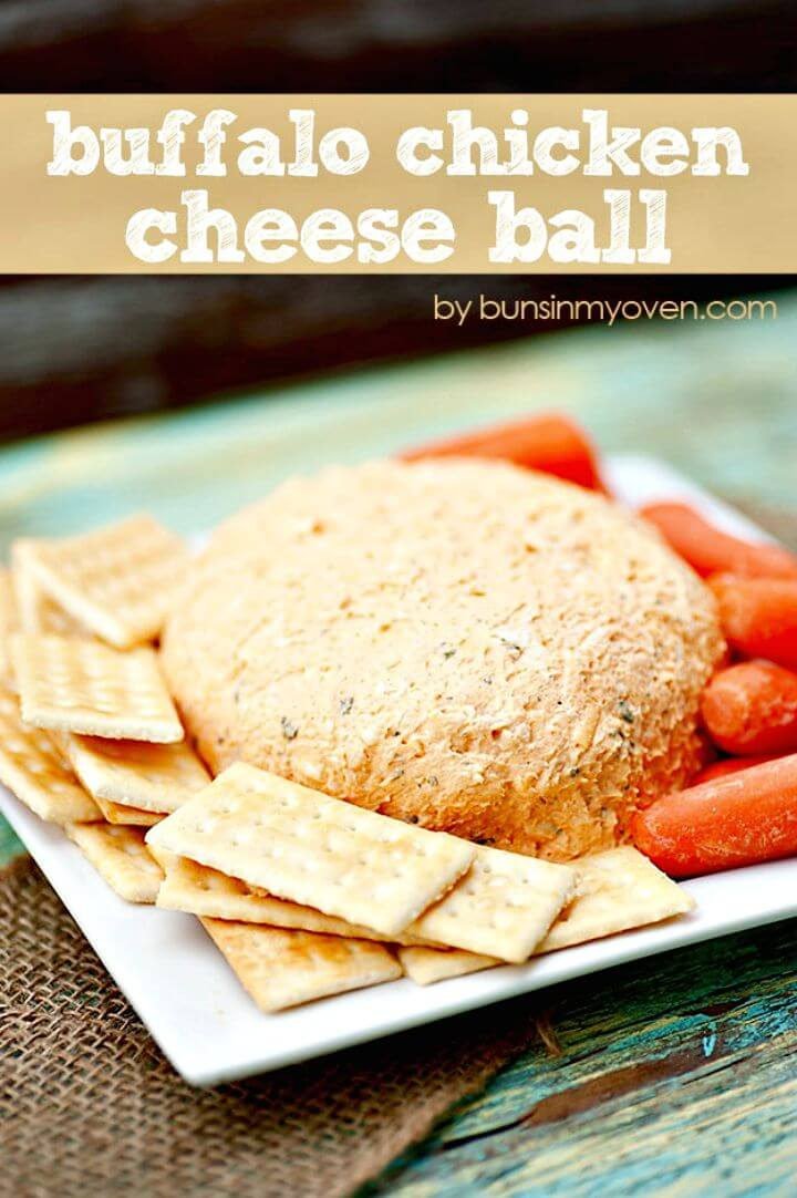 Buffalo Chicken Cheese Ball Recipe