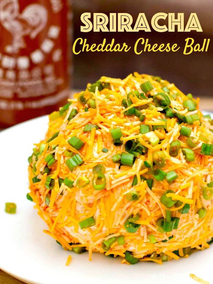 Sriracha Cheddar Cheese Ball Recipe