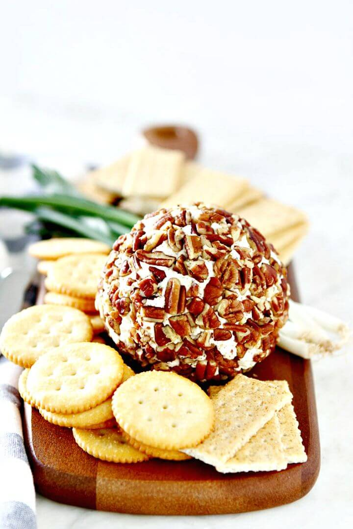 Simple and Delicious Cheese Ball Recipe
