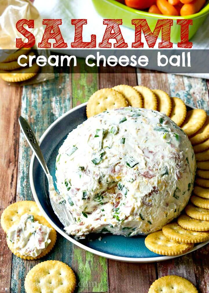 Salami Cream Cheese Ball Recipe