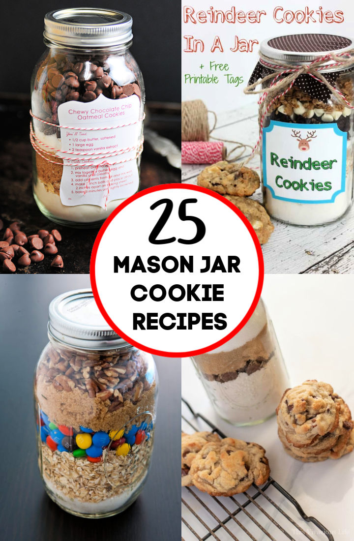 Best Mason Jar Cookie Recipes
