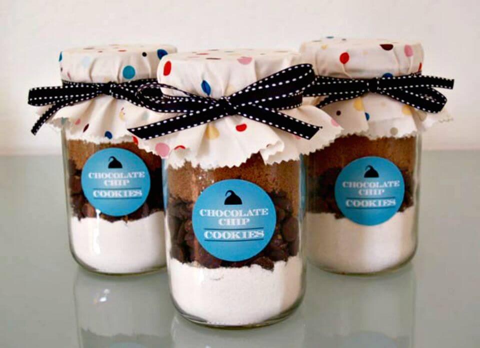 Bump Smitten Mason Jar Cookies Recipe