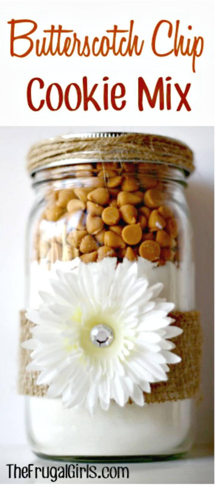 Delicious Cookie Mix Recipe In a Jar Recipe