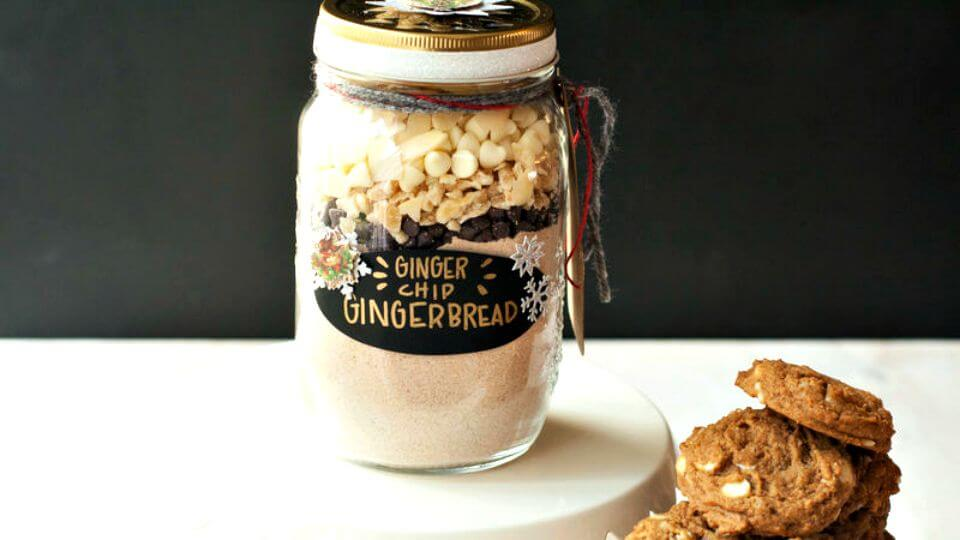Simple Ginger-Chip Gingerbread Cookies