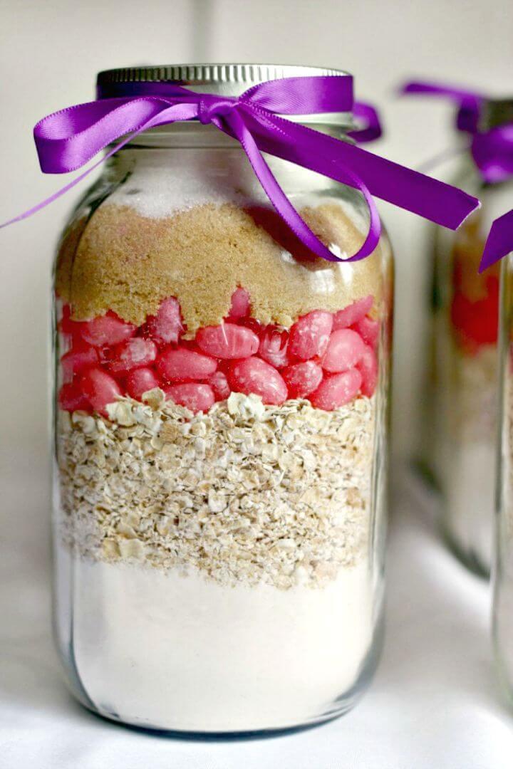 Simple DIY Princess Cookies In A Jar Recipe