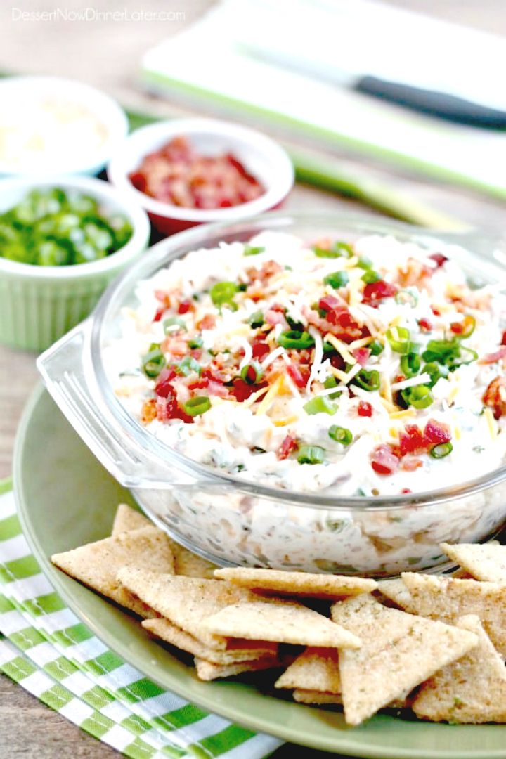 Delicious Loaded Ranch Dip Recipe