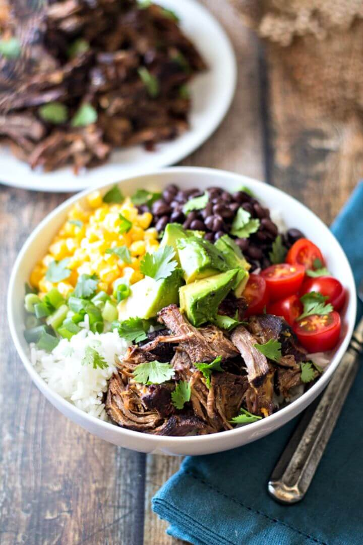 Easy Barbacoa Beef Bowls Recipe