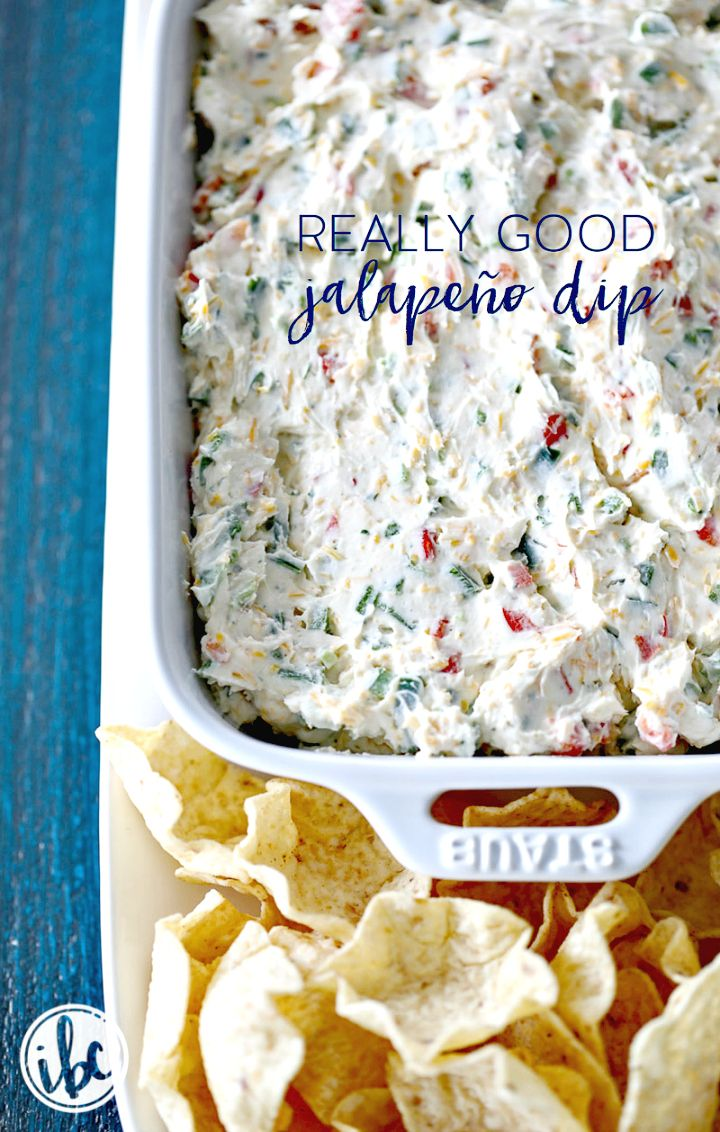 Easy To Make Really Good Jalapeño Dip Recipe