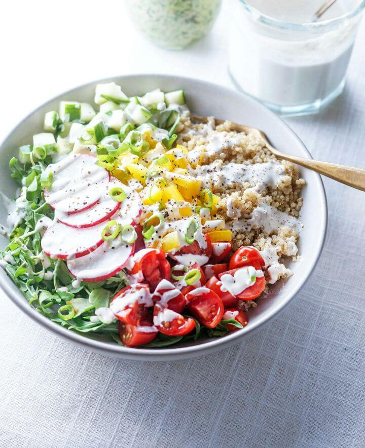 Fast and Healthy Ahead Vegan Lunch Bowls Recipe
