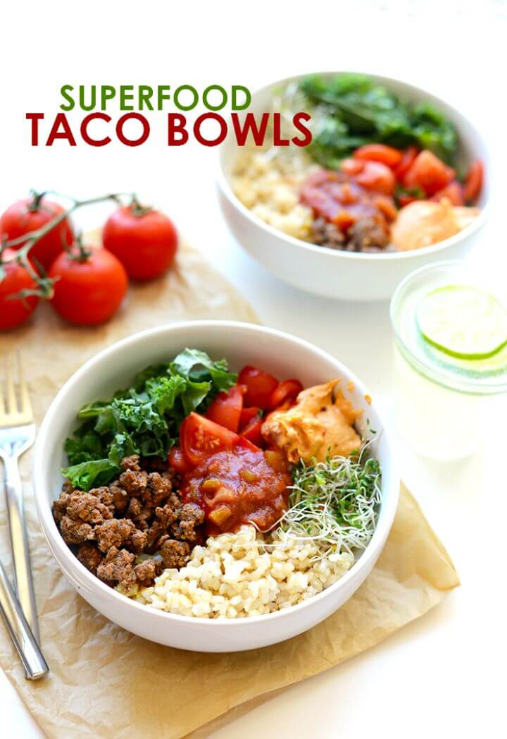 Superfood Taco Bowl Recipe