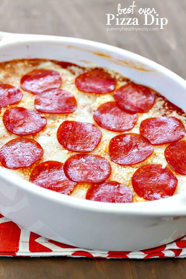 How To Make Cheesy Pizza Dip Recipe