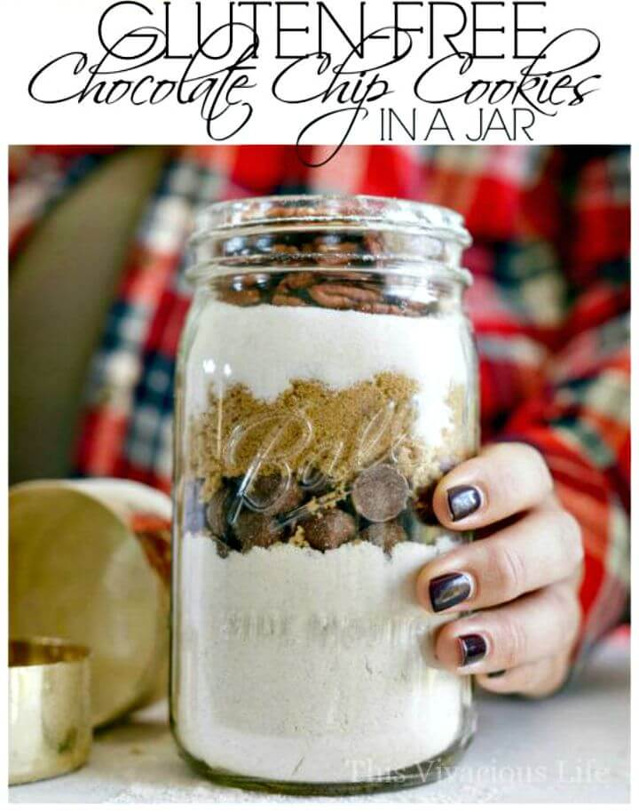 Gluten-Free Chocolate Chip Cookies in a Jar Recipe