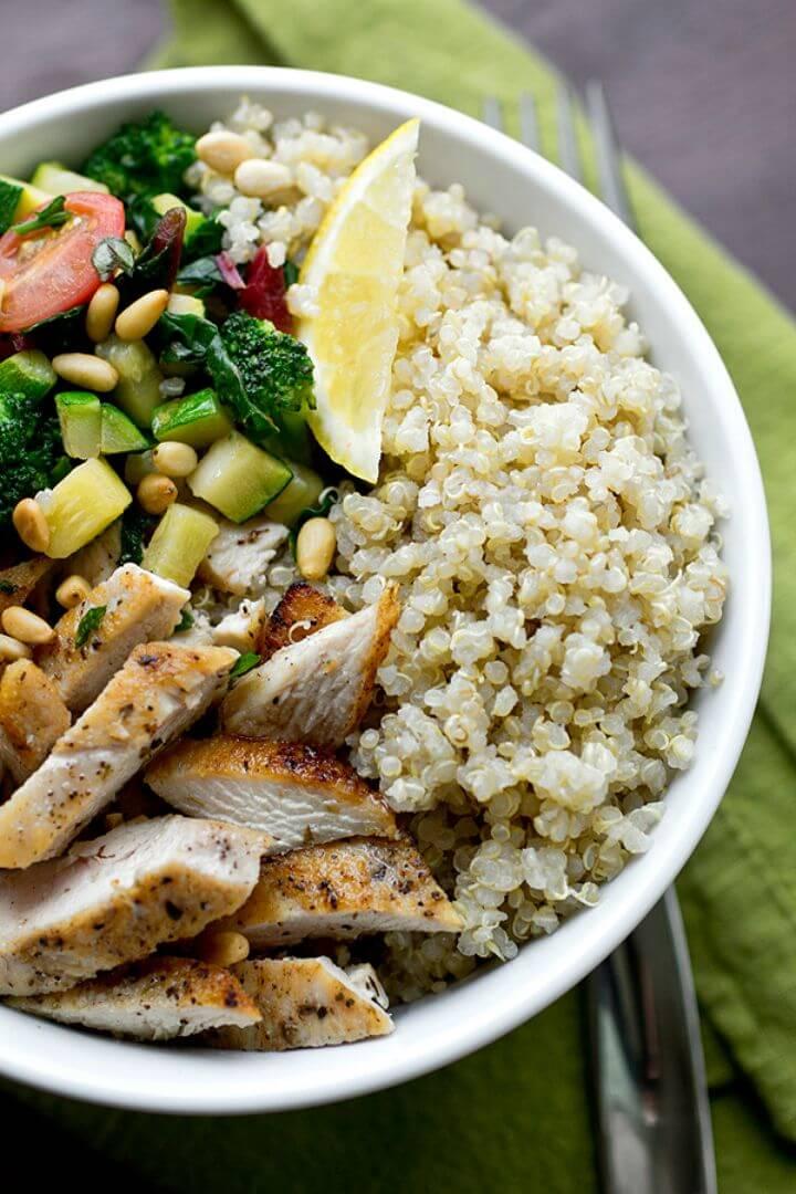 How To Make Quinoa Bowl with Veggies