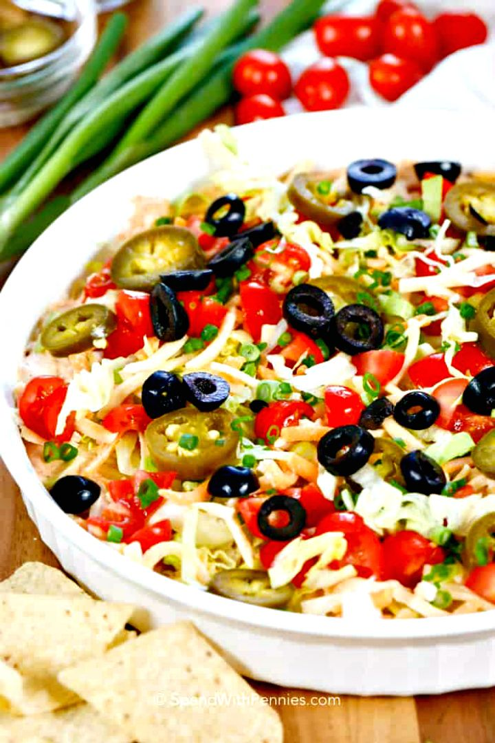 Make Minute Taco Dip Recipe