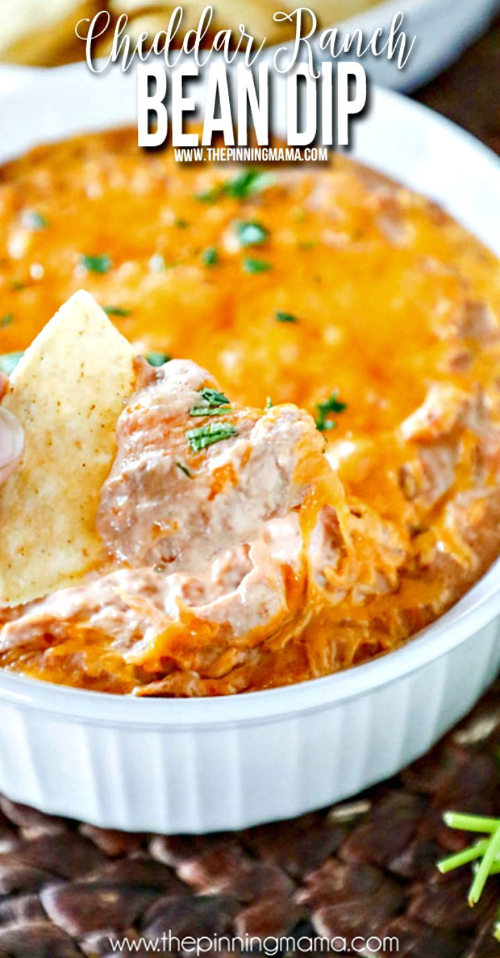 Make Cheesy Ranch Bean Dip Recipe