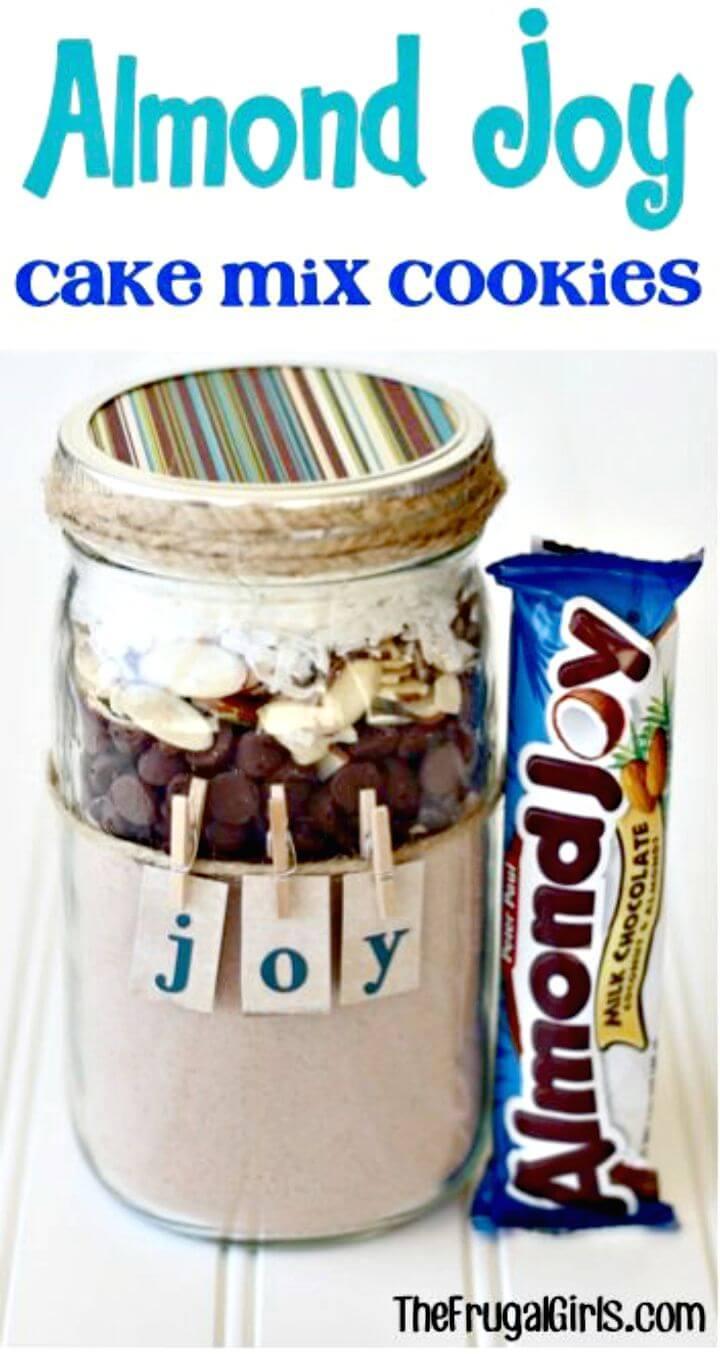 Sweet Almond Joy Cookie Mix in a Jar Recipe